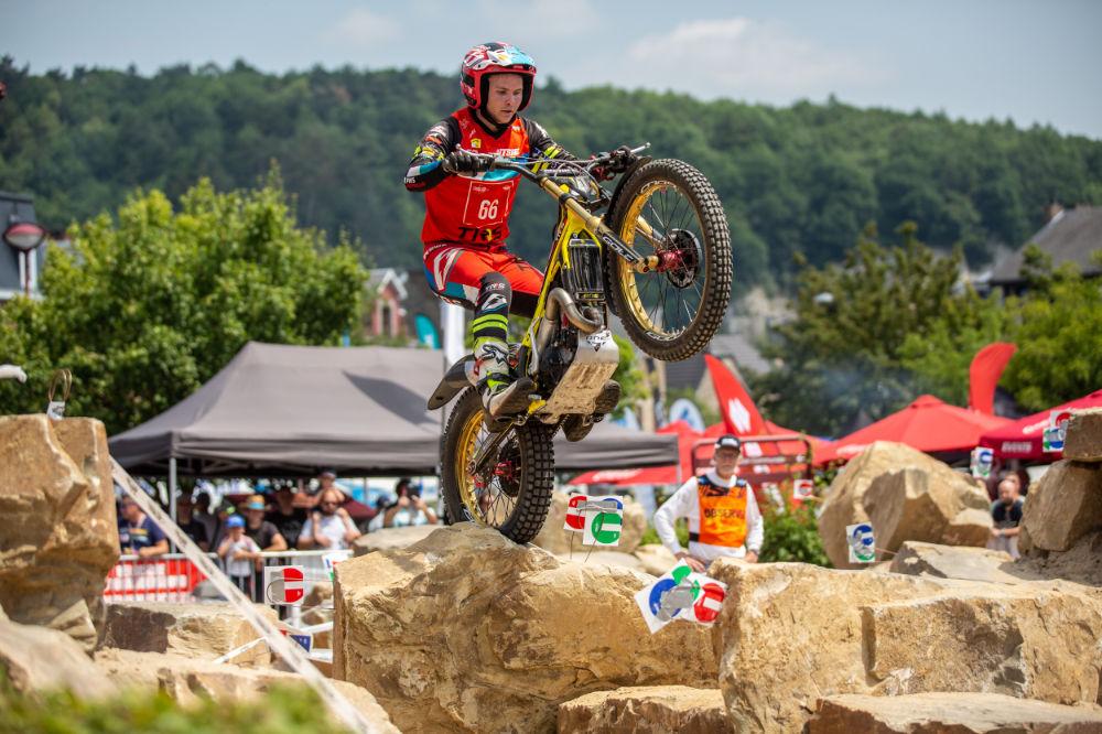Franzi Kadlec - TrialGP Belgium